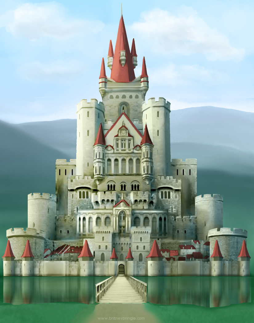 Fantasy Castle Britney Pringle Art